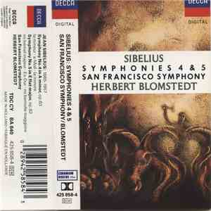 Sibelius - Symphonies 4 & 5 download free